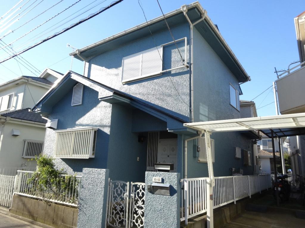 茅ヶ崎市 I様邸 外壁塗装、屋根塗装、施工後