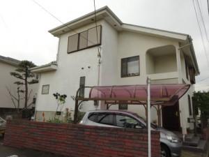 茅ヶ崎市 S様邸 外壁塗装、屋根塗装施工前