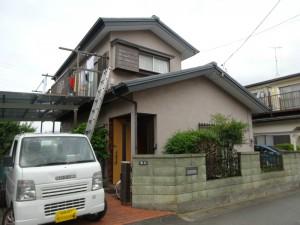 平塚市M様邸 外壁塗装 板金工事